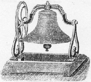 Mason Township's original bell